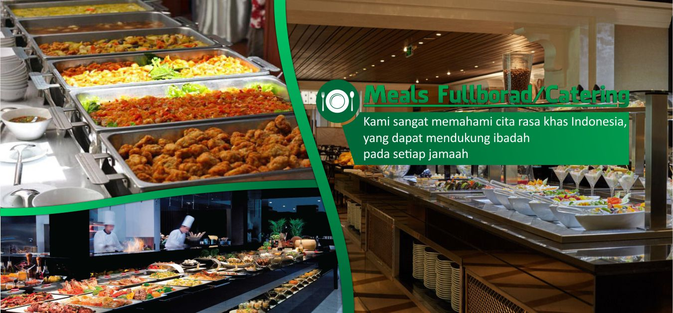 Al Madinah Land Arrangement Umroh Indonesia Meals Fullboard